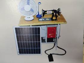 Invest 20k, Reap 90k : with Solar Sewing Machine