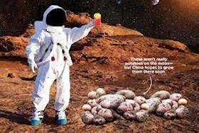 Why Potatoes can be planted on Moon
