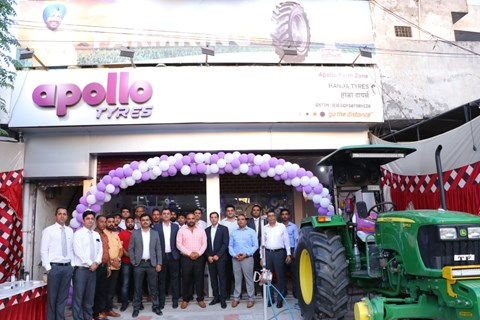 Northern India's 1st Farm Zone Inaugurated: Full-Service Outlet for Farm/Agriculture Tyres in Kapurthala