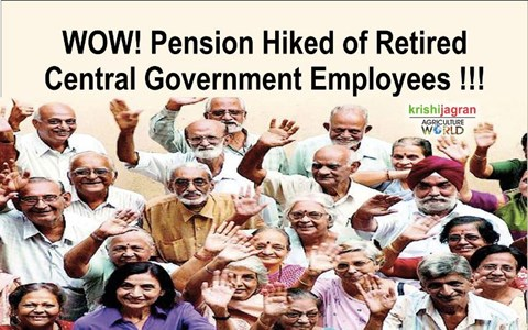 Big News! Pension Hiked for the Retired Central Government Employees Ex-Servicemen under 7th Pay Commission after Centre Releases Order